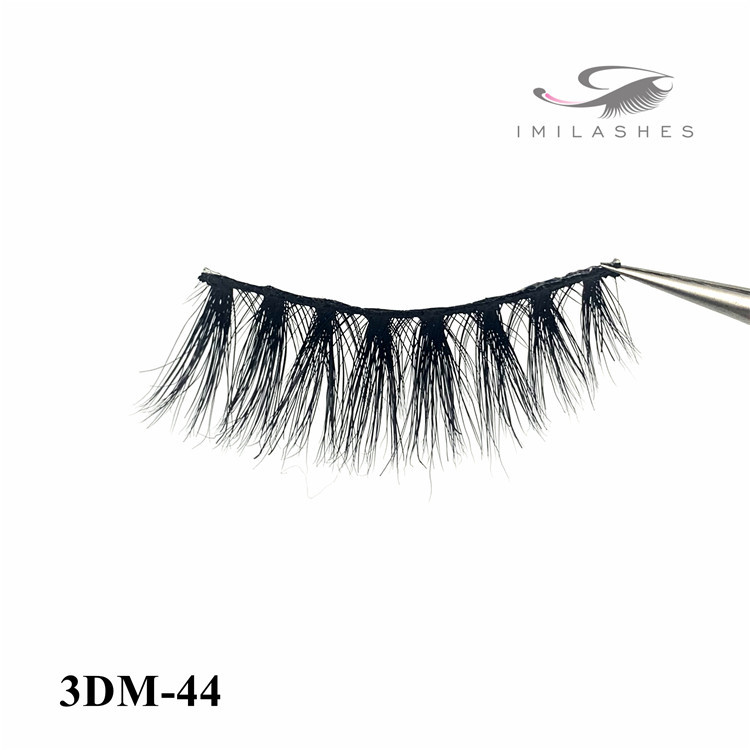 Different curl lashes and wholesale 3D mink lashes and packaging-D